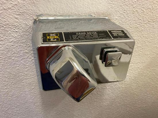 Excel Automatic Hand Dryer, Vintage, Working