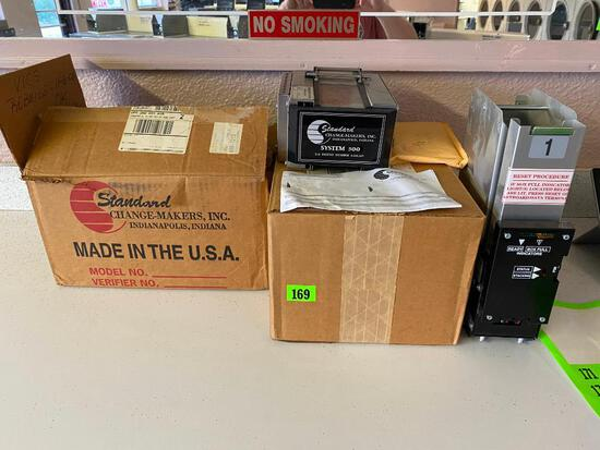 Standard Change-Maker Parts, Acceptor and Roller Assembly? - Look to be New Old Stock