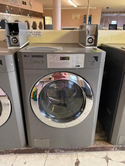 LG Commercial Coin-Operated Front Load Washer Model: GCWP1069QS2 - Fully Automatic