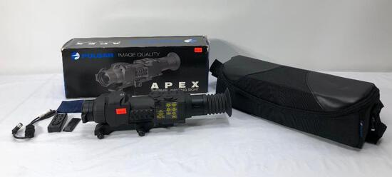 Pulsar Apex Thermal Imaging Sight APEX XD38A Weaver 76416 MSRP:$2999.99