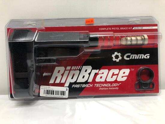 CMMG Complete Pistol Brace Kit Micro/CQB 5 Position MSRP:$199.99