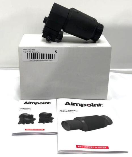 Aimpoint AB 200342 3X C/Flip Mount 39mm w TM Base 3X-C Magnifier Optic