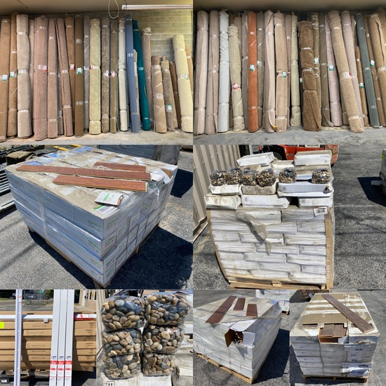 New Floor Coverings Auction, Wood/Laminate, Carpet
