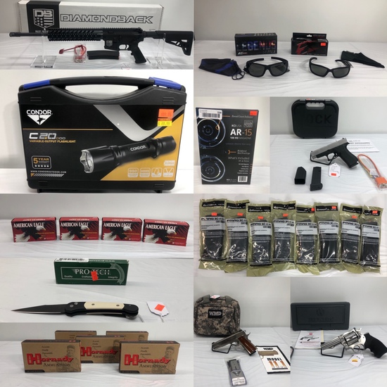 HUGE New Firearms, Ammo & Tactical Auction Omaha
