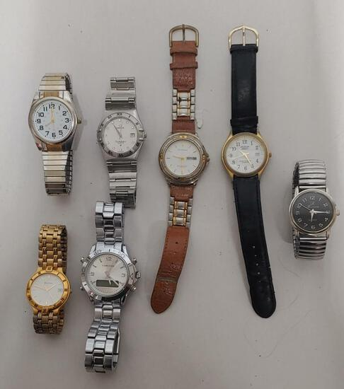 7 Men's fashion watches untested