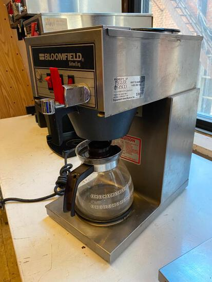 Bloomfield Koffee King Coffee Brewer w/ Top Warming Plate