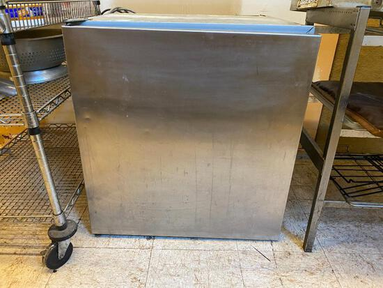 Star Metal Co. Model R-6 Single Door Stainless Steel Refrigerated Cooler