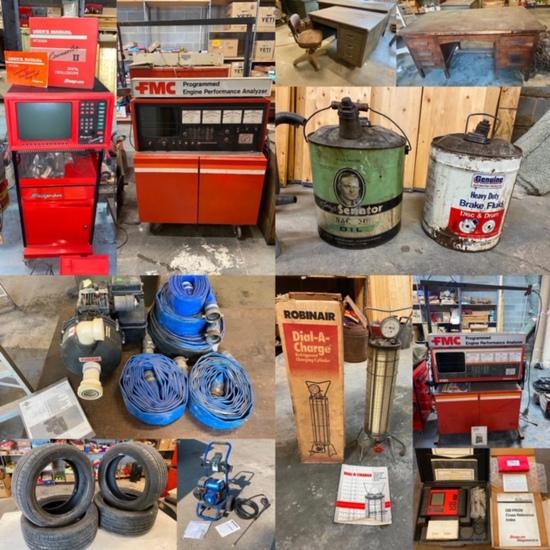 Modern & Vintage Mechanics & Shop Equip. Omaha, NE