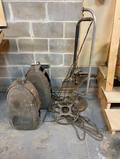 Vintage Wheel Balancer Parts, Great Steam Punk Parts and Accessories