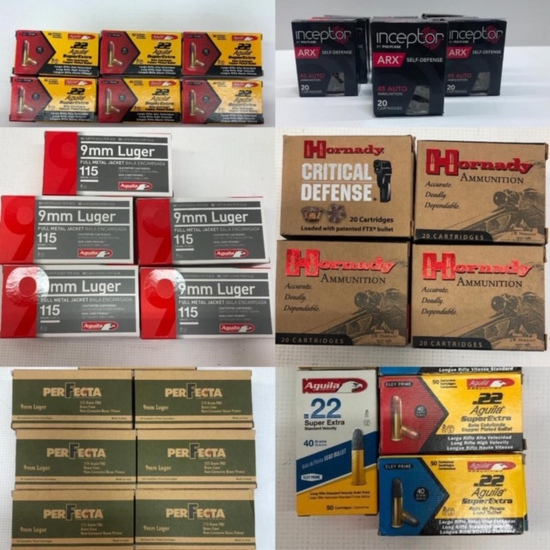 Factory New Ammunition LOCAL PICKUP ONLY Omaha