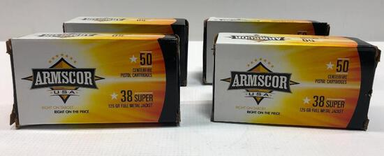 Armscor 38 Special 125 GR Full Metal Jacket 200 Rounds