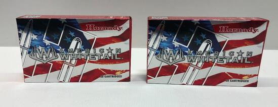 Hornady American Whitetail 300 WIN MAG 150gr Interlock - 2 Boxes, 40 Total Rounds