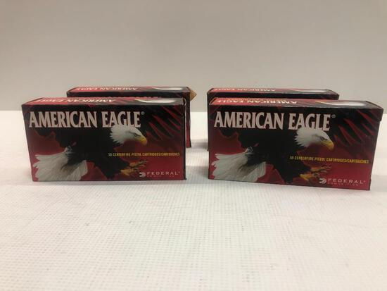 American Eagle 44 REM. Magnum 240gr Jacketed Hollow Point - 4 Boxes, 200 Total Rounds