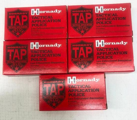 Hornady 223 REM 55gr TAP URBAN - 5 Boxes, 100 Total Rounds
