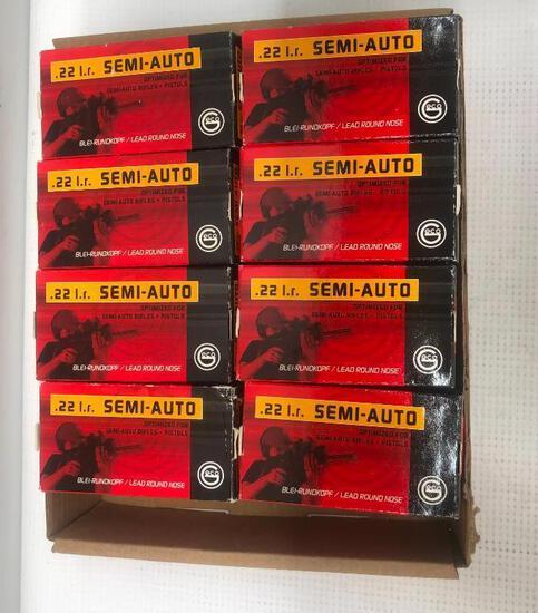 Geco .22 LR 40gr Semi-Auto - 16 Boxes, 800 Total Rounds