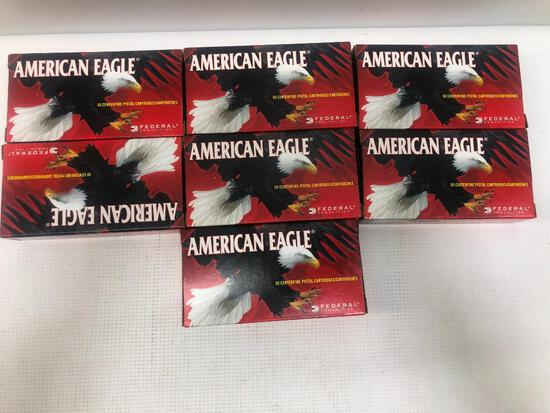 American Eagle 380 Auto 95gr FMJ - 7 Boxes, 350 Total Rounds