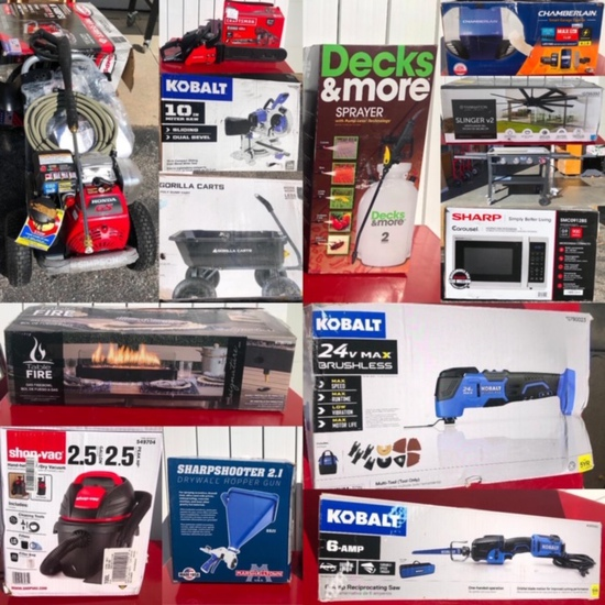 Big Box Store Closeout & Returns Omaha Pickup Only