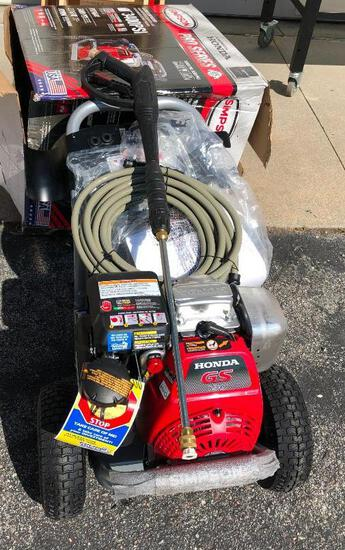 Simpson Pro Series 3400 PSI Gas Pressure Washer