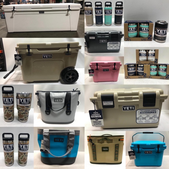 New YETI Coolers, Drinkware Election Night Special