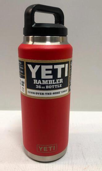 YETI: Rambler 36oz Bottle, Canyon Red