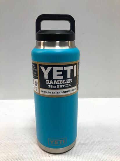 YETI: Rambler 36oz Bottle, Reef Blue