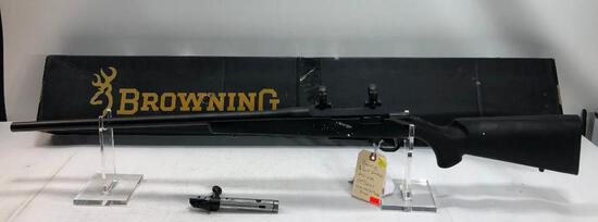"Browning A-Bolt II Varmint 243 WSSM 24"" Barrel Bolt Action Rifle w/ Scope Rings SN: 03867MV351"