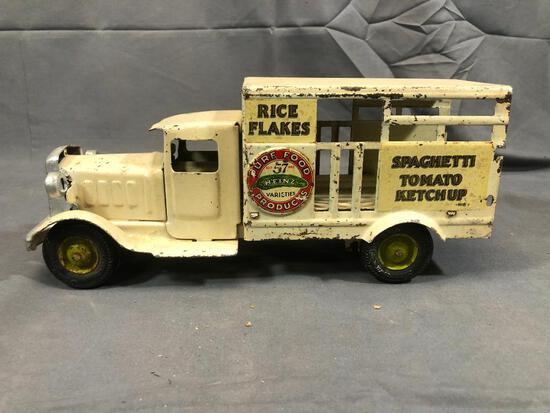 Metal Craft St.Louis Grocery Delivery Truck 12''