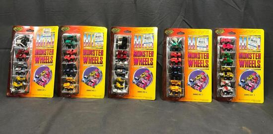 J 4 New Boxes 1988 Mim Monster Wheels