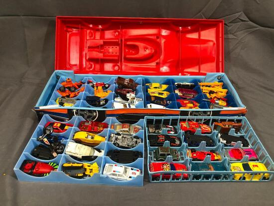 Match Box 48 Car Carry Case Full Assorted Matchbox