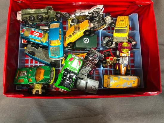 Tara 24 Car Case Full Hot Wheels and Matchbox