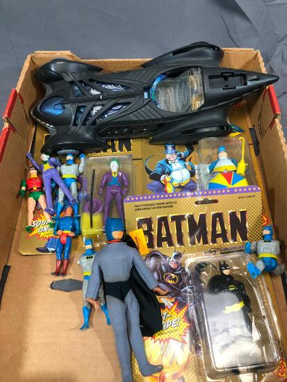 Batman Box Some Still in Package