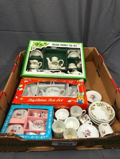 Toy Chine Tea Sets 3 New in Box