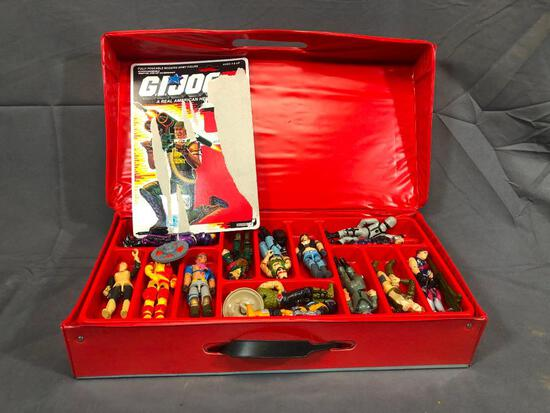 G.I. Joe Collector Set 1984 Hasbro w/ Action Figures