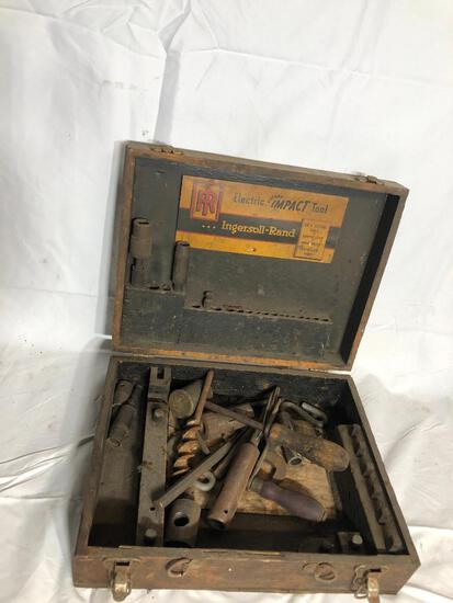 Antique Tools and Tote