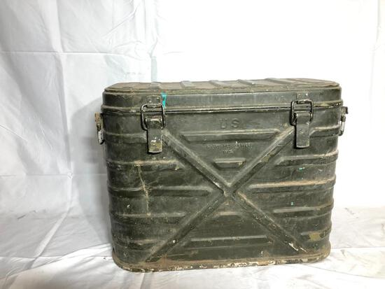 U.S. 1954 Military Food Container/ Storage Cooler, Metal Knapp Monarch Co.