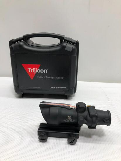 Trijicon Brilliant Aiming Solutions 4X32 .223 BDC/FT-Red Chevron BAC (TA31F), MSRP: $1502.00