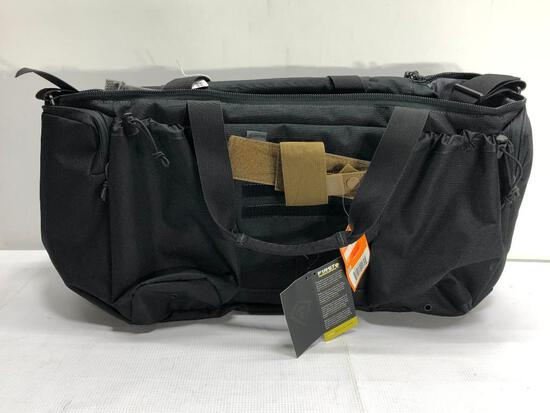 Lot of 2 Items: First Tactical Guardian Patrol Bag, Hazard Modular Pistol Holster