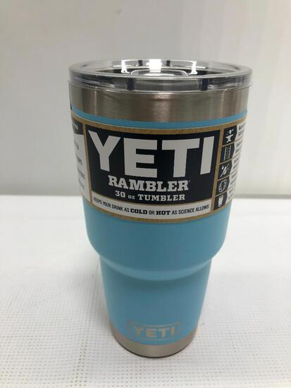 Yeti Rambler Sky Blue 30oz Tumbler