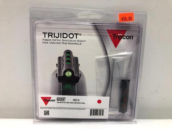 Trijicon Trijidot Fiber Optic Shotgun Sight for Vented Rib Barrels No. 600587 SH02-R