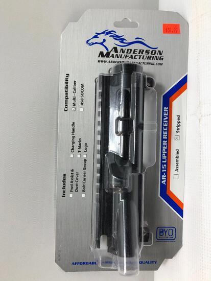 Anderson Mfg AR-15 Upper Receiver, Stripped, Multi-Cal, NIB