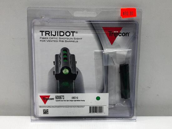 Trijicon Trijidot Fiber Optic Shotgun Sight for Vented Rib Barrels No. 60073 SH02-G