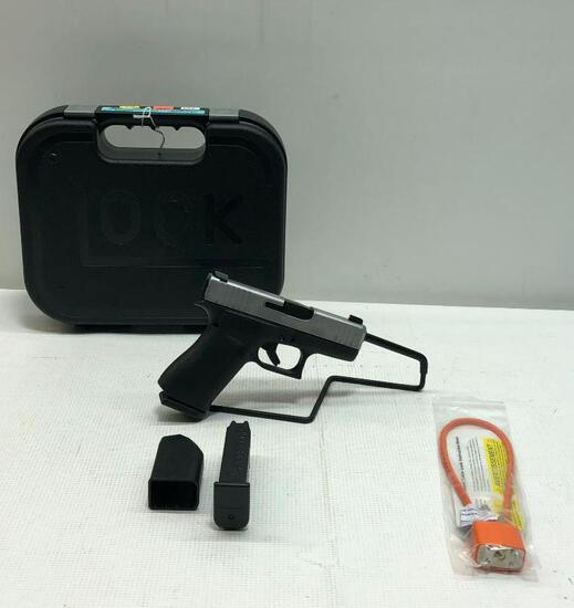 Glock Blue Label Model G43X 9mm Semi-Auto Pistol SN: BLLG744 (2 Magazines)