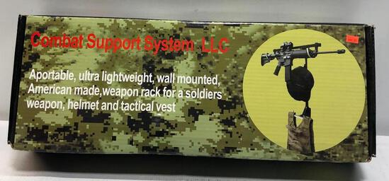 Combat Support System LLC - Wall Mount Weapons Rack