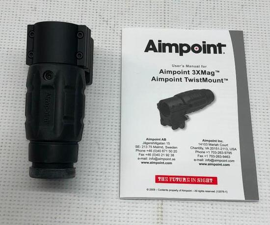 AIMPOINT AB 3xMag/TM Pic. + Spacer, Kit No. 12071 and Twist Mount MSRP: $819.99