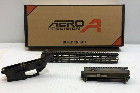 "Aero Precision APCS100388 M4E1 Builder Set w/ 15"" Atlas R-One M-Lock Handguard War Torn Acid Bronze"