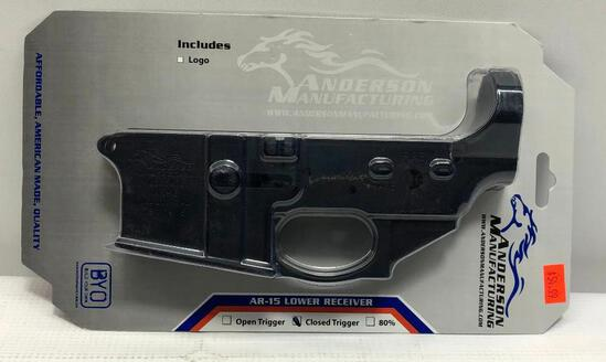 Anderson MFG Closed Trigger AR-15 Lower Receiver Multi Cal SN: 19111415