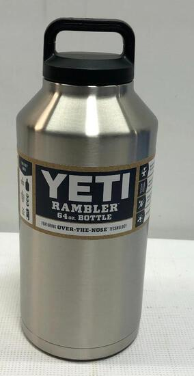 YETI Rambler 64oz Stainless Steel Bottle
