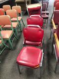 VIRCO Mfg Mid-Century Modern Chairs, Set of 4