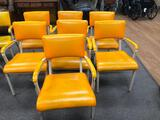 Set of 7 Mid-Century Modern Chairs