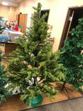 Artificial Christmas Tree, Approx. 5ft on Stand